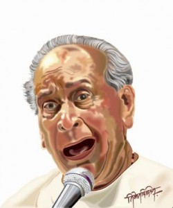 Niket Dixit - Bhimsen Joshi Illustration