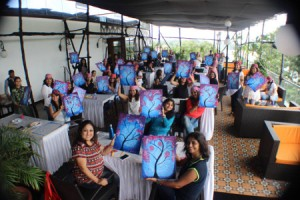 GroupArtCircle private painting party