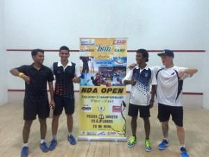 RNSA organised NDA Open Squash Championship, Khadakvasla, Pune