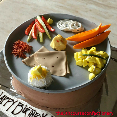 The 5th Course Confectionary - Cake by Chef Viren