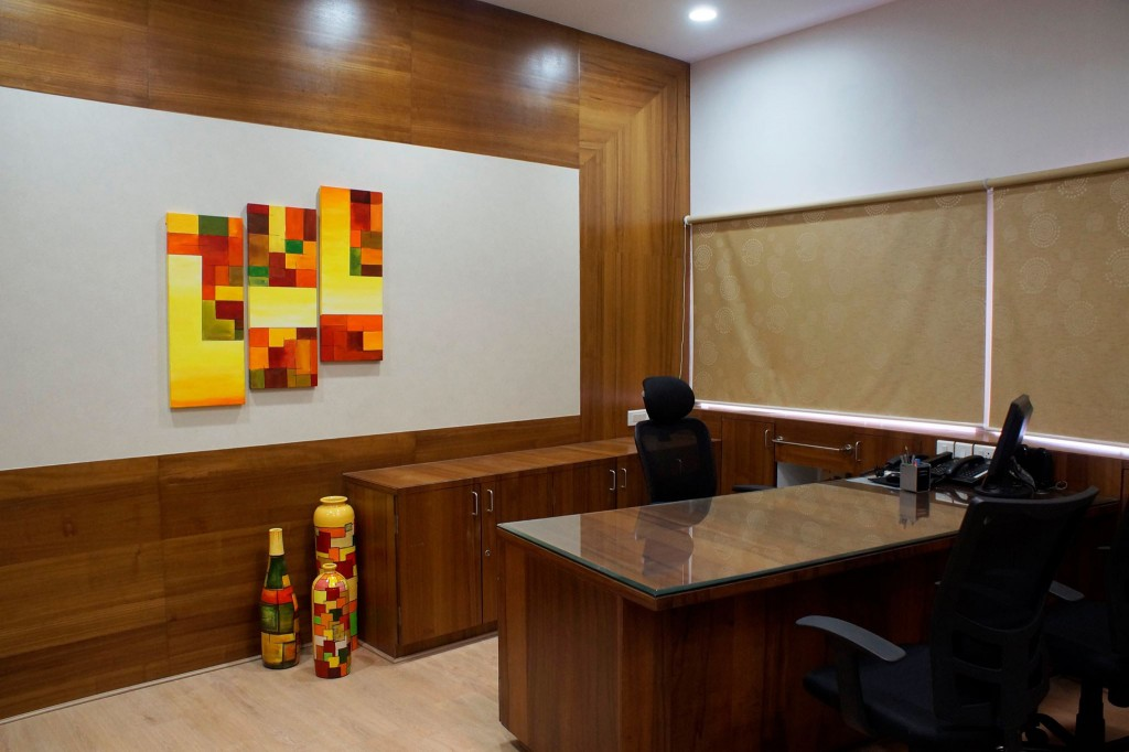 Creative Strokes - Canvas Painting Office Artwork