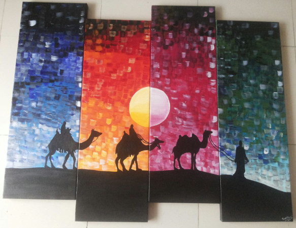 Creative Strokes - Canvas Painting