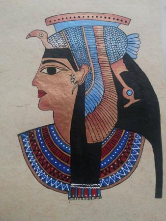 Creative Strokes - Egyptian Painting