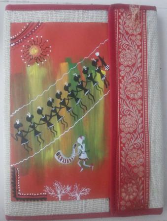 Creative Strokes Decorated Folder