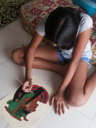 Creative Strokes - Egyptian Painting Workshop