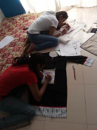 Creative Strokes - Kurta Painting Workshop