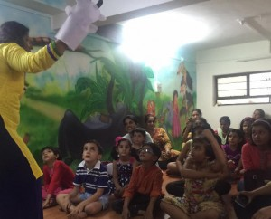 Bookspace library - Story telling session