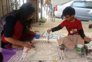 Gita's Lippan Art Workshop