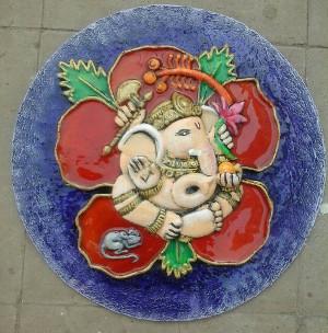 Nandita's Creations - Ganpati Mural
