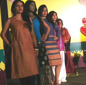 Fashion Fundas organised the fashion show of Ministry of Textiles for Khadi Promotion in 2012 in Pune