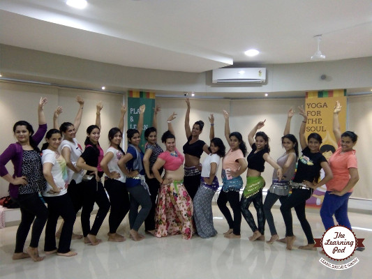 Belly Dance Master Class by Shiraz Irani - India's Got Talent Season 4 Finalist