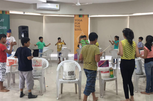 The Funky Junk Percussion Workshop by Mind Ventures Kids Talent Club