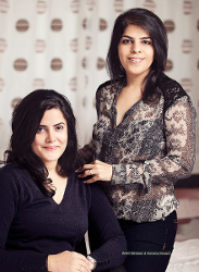 Thee founders - Saloni Sardesari (Left) and Manisha Nihalani