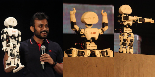 Day 2 - Tech-Talk by Mr. Diwakar Vaish, creator of India's first Made in India robot