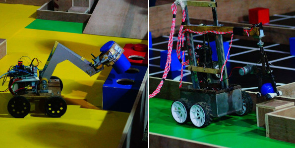 Day 2 - Technical Events - Robitics