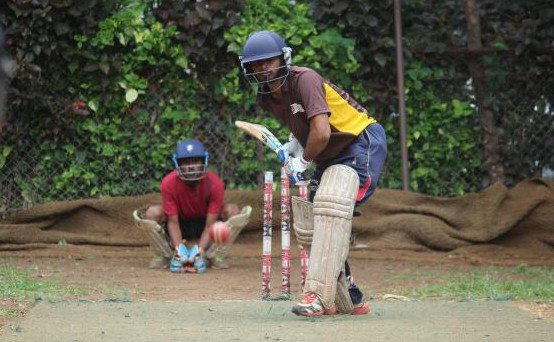Team AISSMS Net Practice Batting