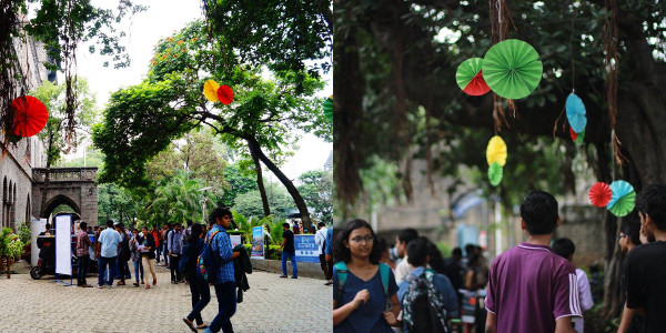 Day 1 - Decorated CoEP Campus