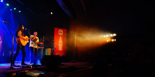 Day 1 - Coke Studio Nite with performance by band Lagori