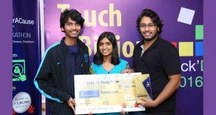 HackD 2016 Winners - College of Engineering Pune