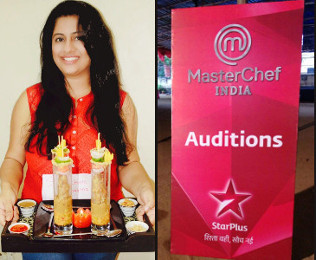Shrunkhala Sharma at MasterChef Auditions