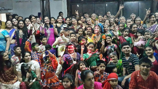 URDA - Dandiya workshop of kids and adults