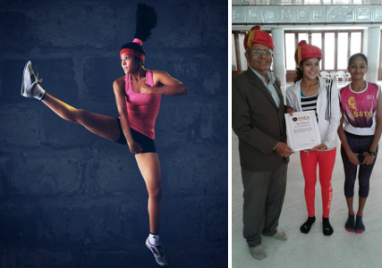 URDA - Shweta is a certified Zin Zumba Instructor. Along with her student Khushi Parmar, she holds the Indian and Asian record of Most Aerobic performances in a day