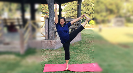 Mind and Body Yoga Institute - Manali Deo showcasing yogasanas