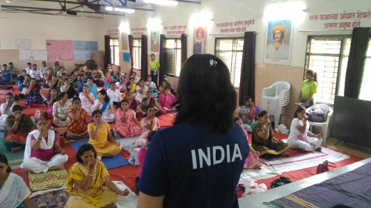 Session of Mind and Body Yoga Institute