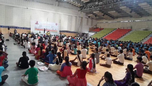 Mind and Body Yoga Session
