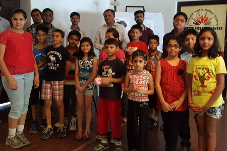 Jigyasa Research Center regularly organizes Science Workshops for Kids