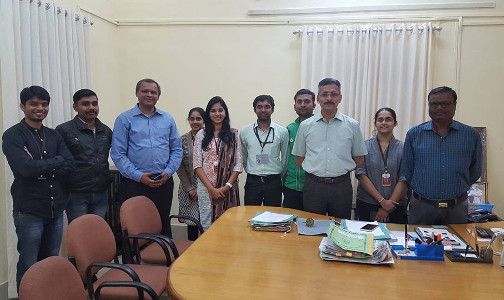 Jigyasa Research Centre Team With DCP (Special Branch) on successful implementation of Mob Control and Management System