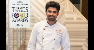 Nagraj Bhat Chef Of The Year Times Food Awards 2017