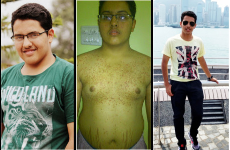 Parag Doodhya - Transformation over the years