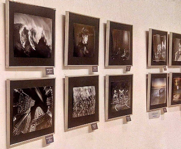 Mohammed Ibrahim Photography PSI International Salon Jahangir Art Gallery Display
