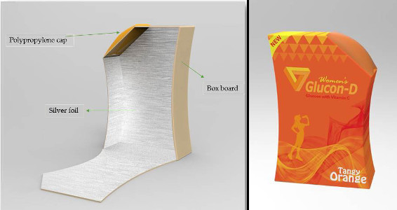 Nilanjan Chakravarty Portfolio Showcase - Glucon D packaging redesign