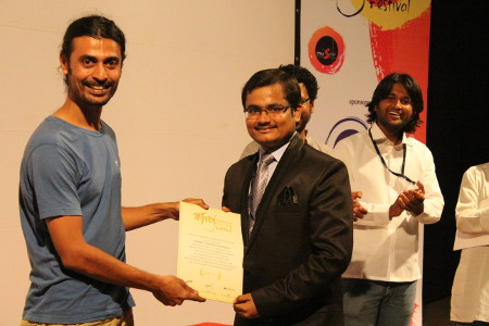 Rahul Khandalkar - Award winning short film - Born to Die - Miraj Film Festival