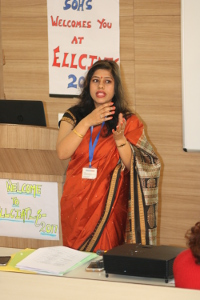 Shikha Sharma presenting at ELLCIATLS -2017 conference
