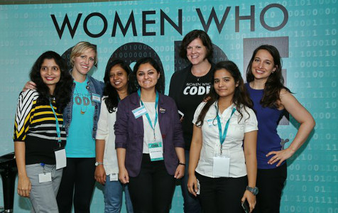 Jigyasa Grover at Women Who Code, Bengaluru chapter inaugural event