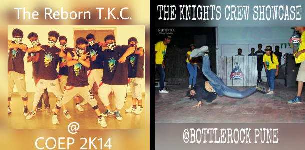 The Knights Crew in 2014 and 2015