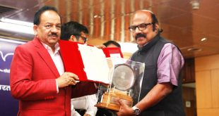 G S Unnikrishnan Nair - National Science Communication Award 2017 by Department of Science and Technology