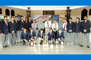 AIT Cricket Team with AIT Faculty