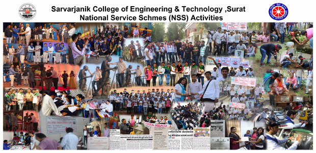 NSS SCET Activities Collage
