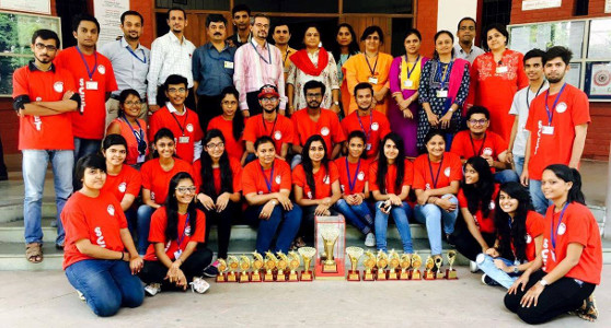 SCET Youth Fest team - Zonal Champions of Youth Fest of GTU 2016