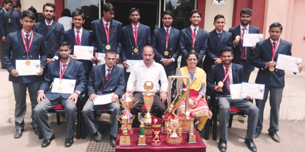 Team AIT with All Trophies won during 2016-17
