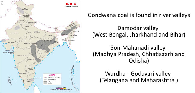 Coal Reserves of India - Source mapsofindia.com