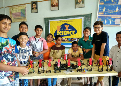 Parag Gore Box of Science - Robotics workshops