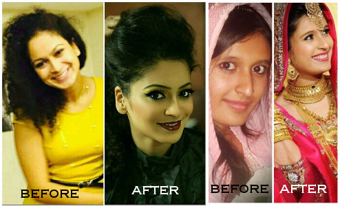 Beautiful Makeup and Makeover by Nazima Arif