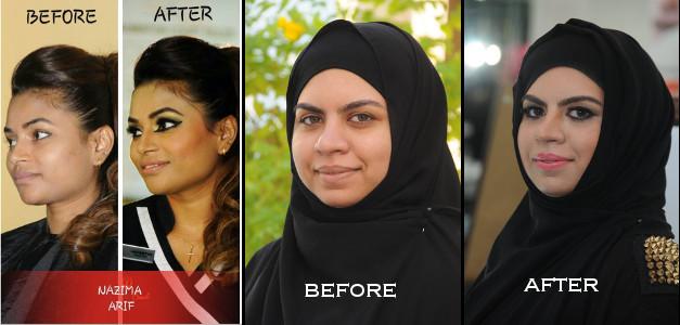 Nazima Arif - Studio Nazima - Makeup and Makeover 1-2