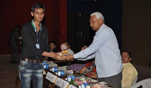 Nirav Soni Best Student award