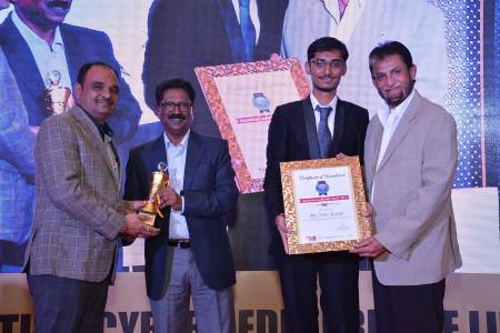 Nirav Soni TIME Cybermedia Award